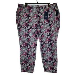 Charter Club Floral Tummy Control Pants